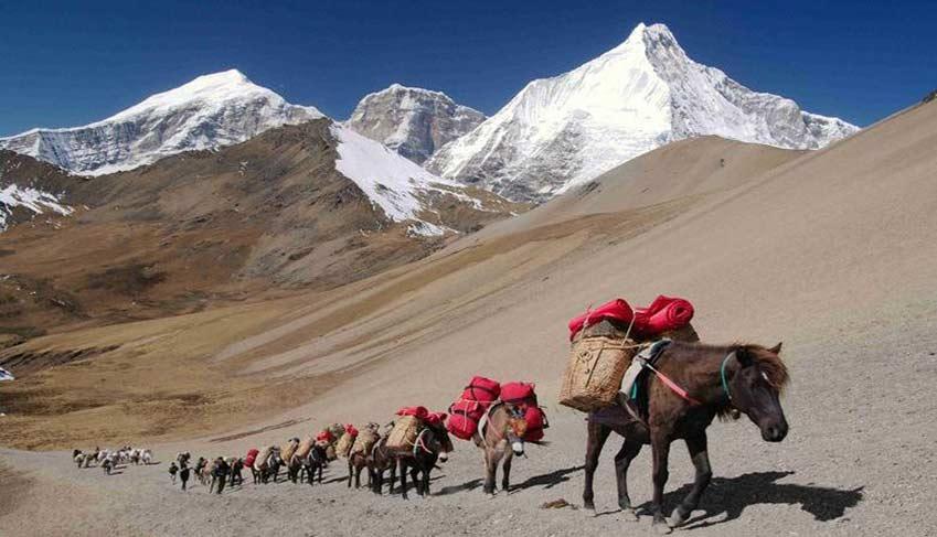 Bhutan's trekking trail