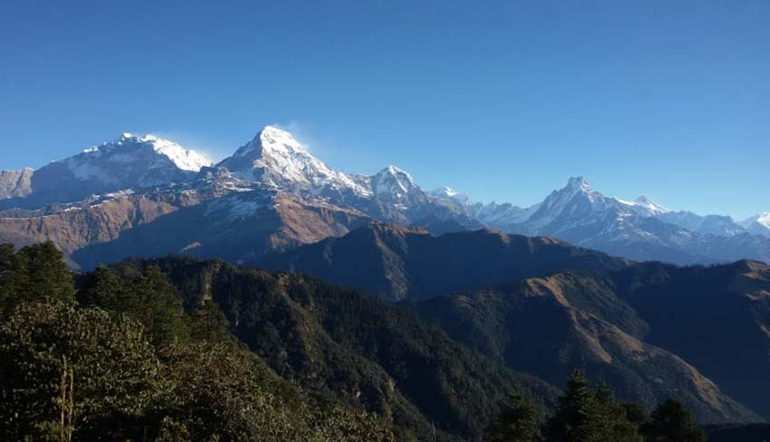 Mt Annapurna view