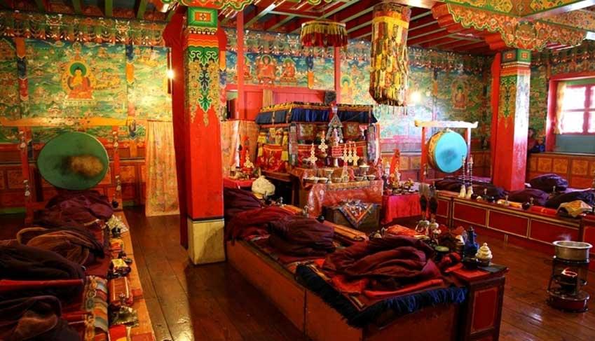 inside tengbochae gumba