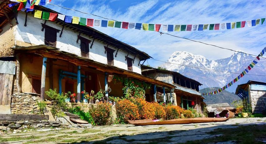 Ghandruk-trek-in-Nepal