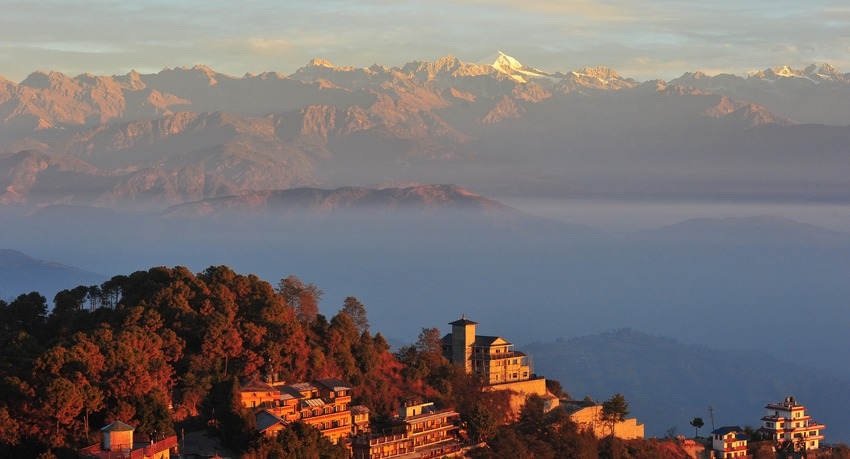 Hiking-in-Nagarkot-Nepal