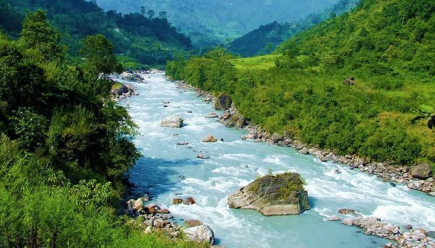 Modi river enroute