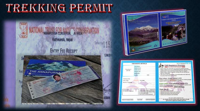 Trekking Permit Card