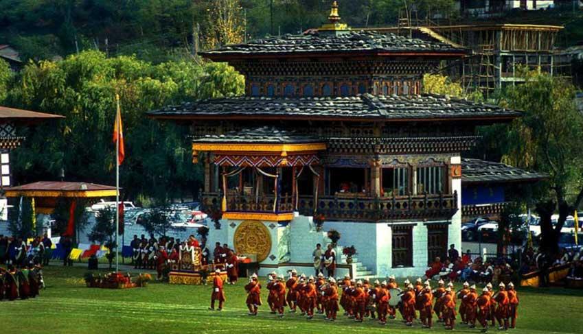 Bhutan trekking gangtey valley