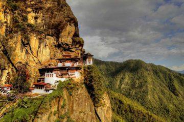Bhutanese-Tiger-nest Monastry