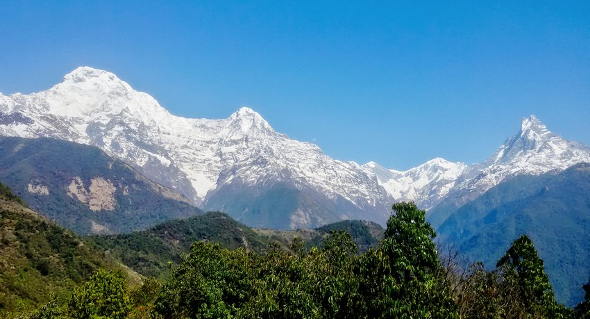 Annapurna view from Ghandruk