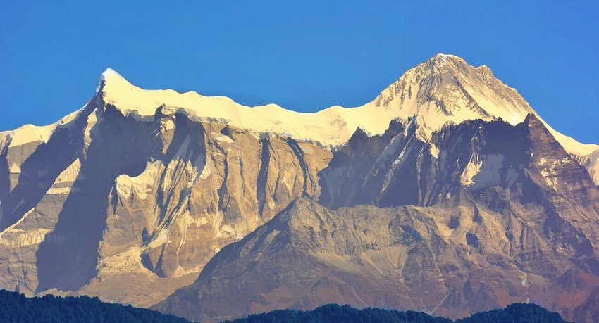 Annapurna view from Pokhara