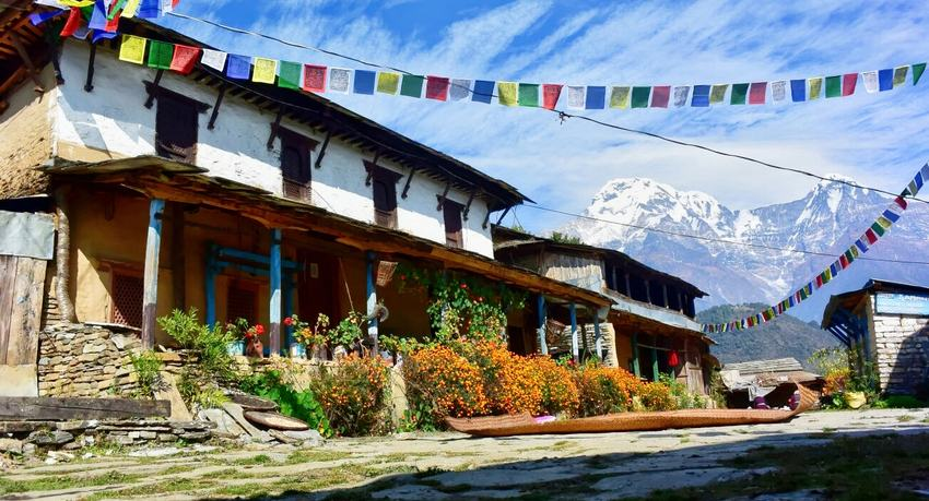 Ghandruk-trek-in-Nepal