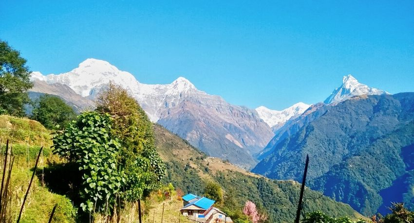 Ghandruk trek in Nepal