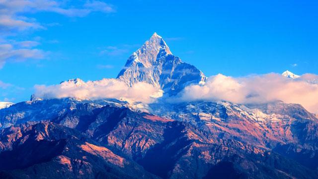 Nepal's Machhapuchrae